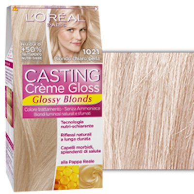 L 39 oreal paris casting cr me gloss glossy blondes beauty mebeauty me - Bagno di colore l oreal ...